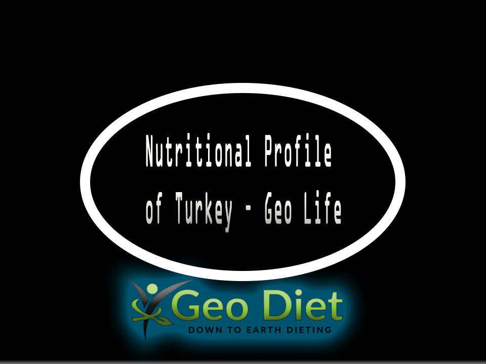 Nutritional Profile of Turkey – Geo Life