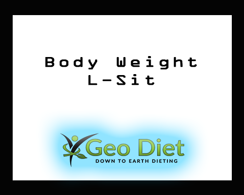 Body Weight L-Sit