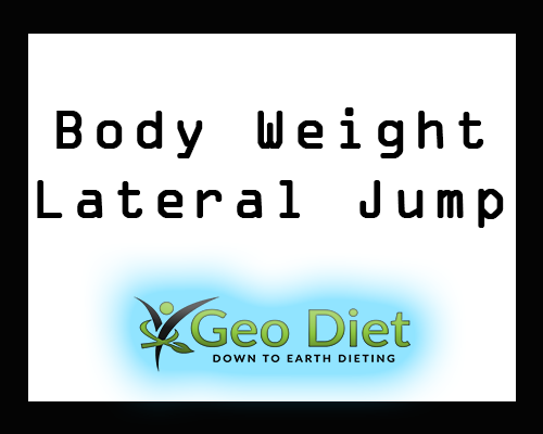 Body Weight Lateral Jump