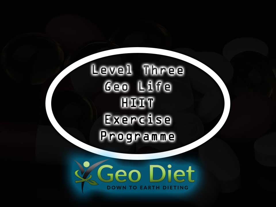 Level Three Geo Life HIIT Exercise Program