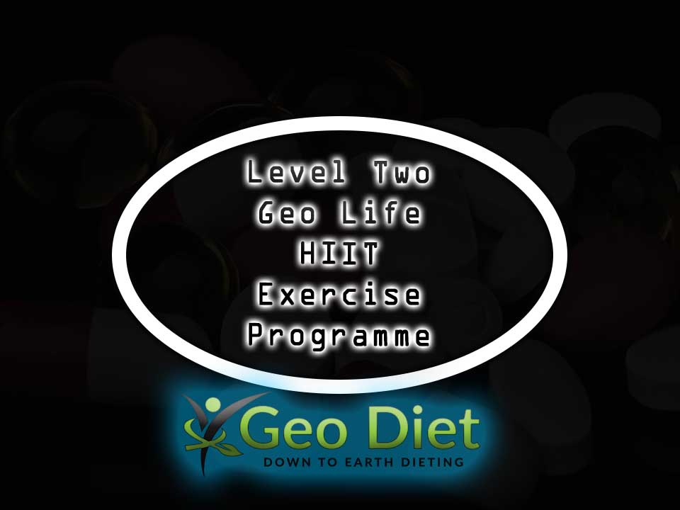 Level Two Geo Life HIIT Exercise Programme