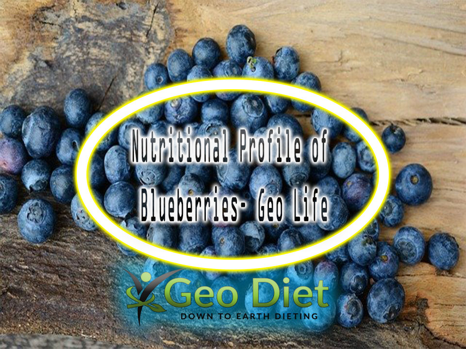 Nutritional Profile of Blueberries– Geo Life