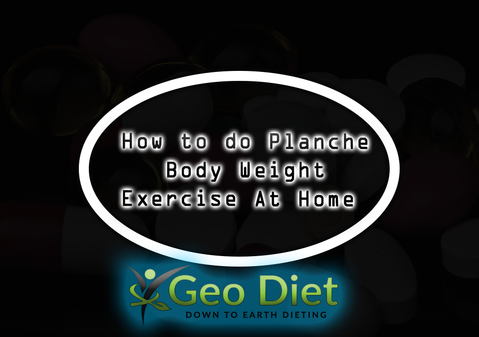 Body Weight Planche