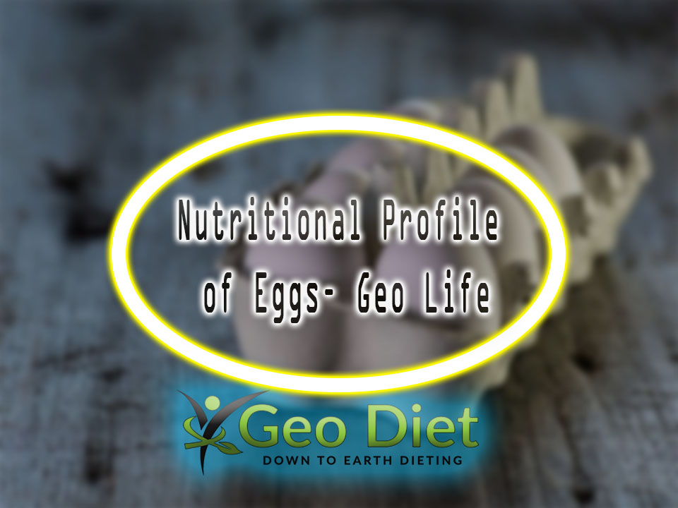Nutritional Profile of Eggs– Geo Life