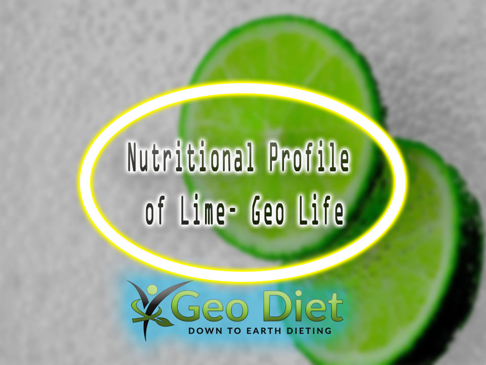 Nutritional Profile of Lime– Geo Life